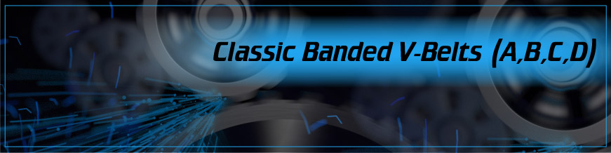 Classic Banded V-Belts (A, B, C, D)