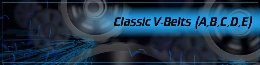 Classic V-Belts (A, B, C, D, E)
