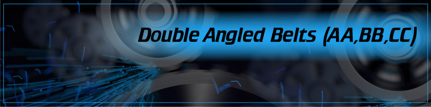 Double Angled Belts (AA, BB, CC)