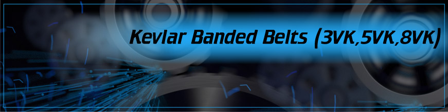 Kevlar Banded Belts (3VK, 5VK, 8VK)