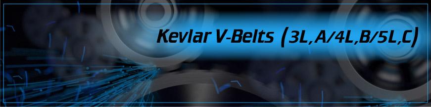 Kevlar V-Belts (3L, A/4L, B/5L, C)
