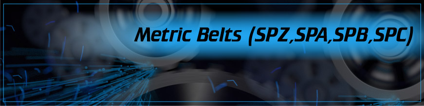 Metric Belts (SPZ, SPA, SPB, SPC)