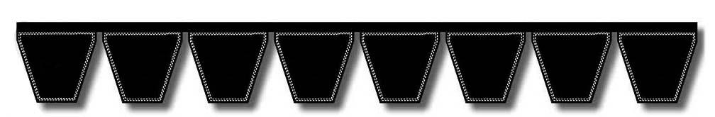 D/&D PowerDrive 5VK2240 V Belt Kevlar 1 Band