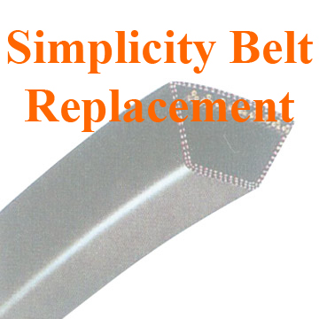 1722039 SIMPLICITY BELT Replacement