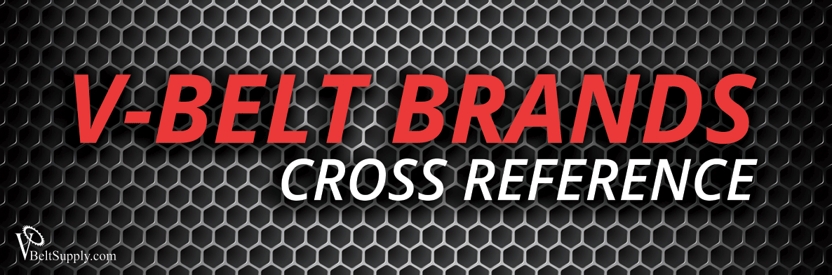 V-Belt Cross Reference | V-Belt Cross Reference Chart PDF